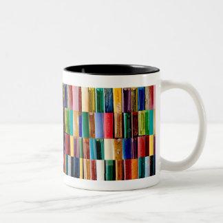 Gas Lighter Shells Creative Abstract Art Collage Two-Tone Coffee Mug