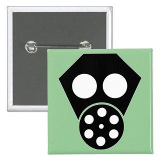 Gas Mask ~ Anarchist Attire Pin