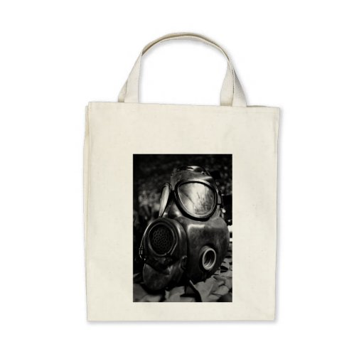 Gas mask canvas bag