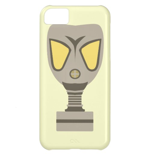 Gas mask case for iPhone 5C