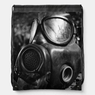 Gas mask drawstring bag
