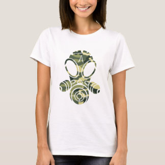gas mask green camo T-Shirt