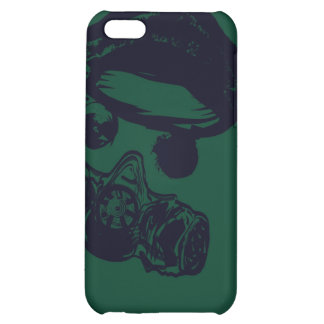 Gas Mask iPhone 5C Covers