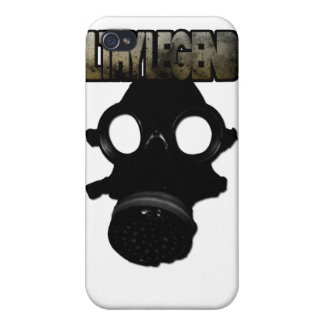 Gas mask iphone case iPhone 4 cases