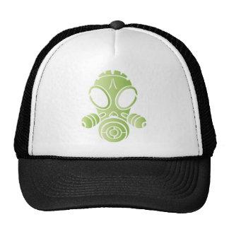 gas mask light green gradient cap