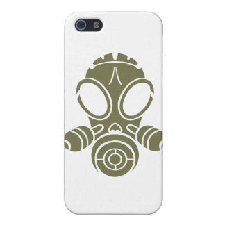gas mask od green iPhone 5 cover