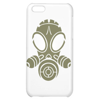 gas mask od green iPhone 5C covers