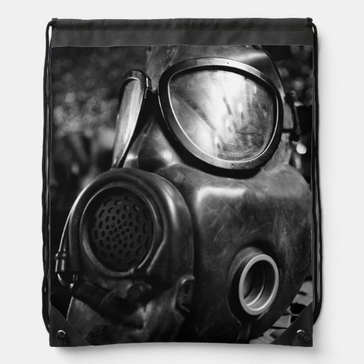 Gas mask backpacks