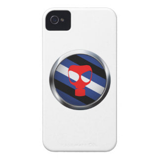 GAS MASK PRIDE MEDALLION iPhone 4 CASES