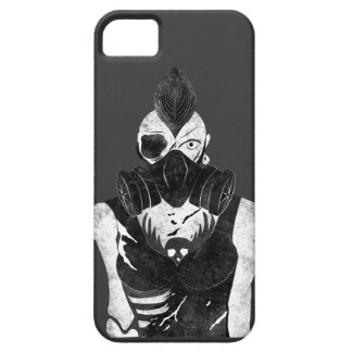 Gas Mask Punk Girl Case For The iPhone 5
