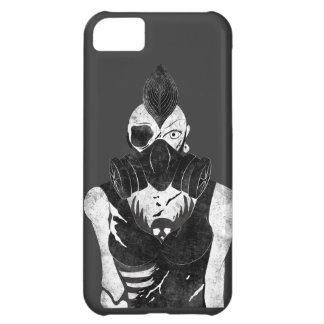 Gas Mask Punk Girl iPhone 5C Case