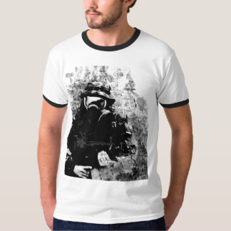 gas mask runner T-Shirt