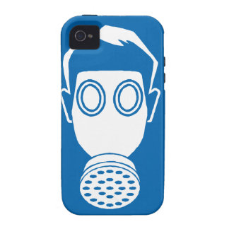Gas Mask Sign Case-Mate iPhone 4 Covers