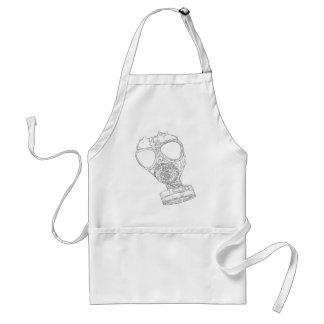 gas mask standard apron