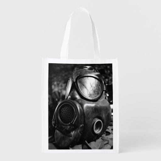 Gas mask market totes