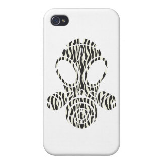 gas mask zebra case for iPhone 4