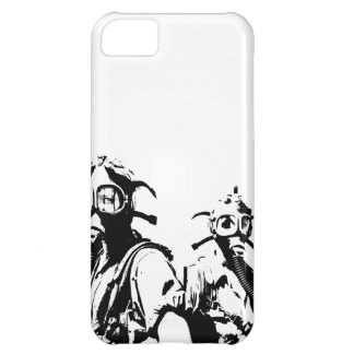 Gas Masks in Black Case For iPhone 5C