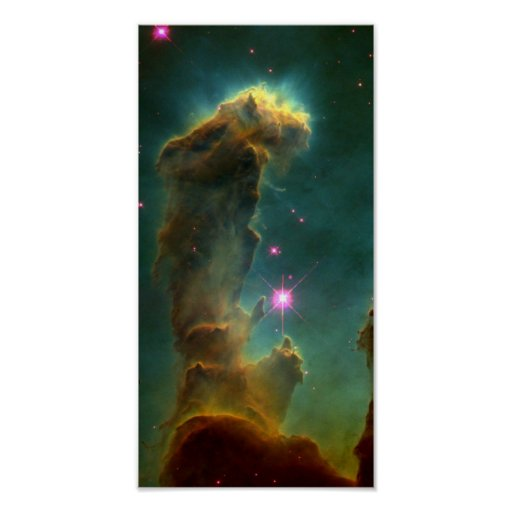 Gas Pillars in the Eagle Nebula (M16)- Pillars of Posters