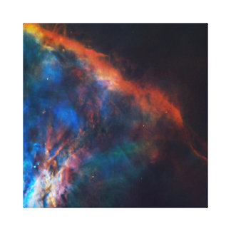 Gas plume near Orion Gallery Wrapped Canvas