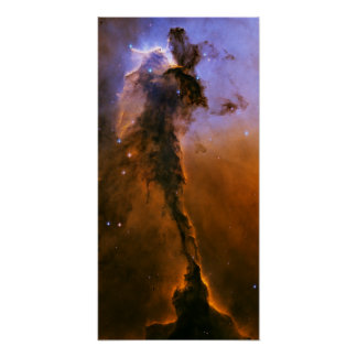 Gas Spire In The Eagle Nebula Poster