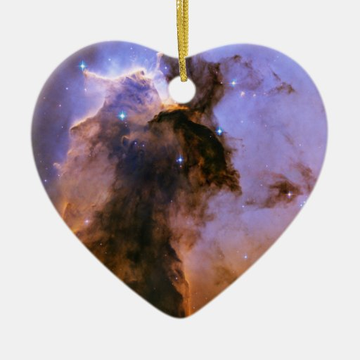 Gas Spire In The Eagle Nebula Space Ornaments