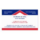 Gas Station Business Card