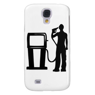 Gas Station Gun In The Head Galaxy S4 Covers
