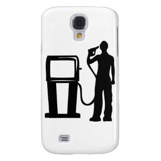 Gas Station Gun In The Head Galaxy S4 Case