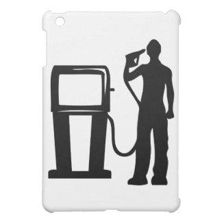 Gas Station Gun In The Head iPad Mini Cover