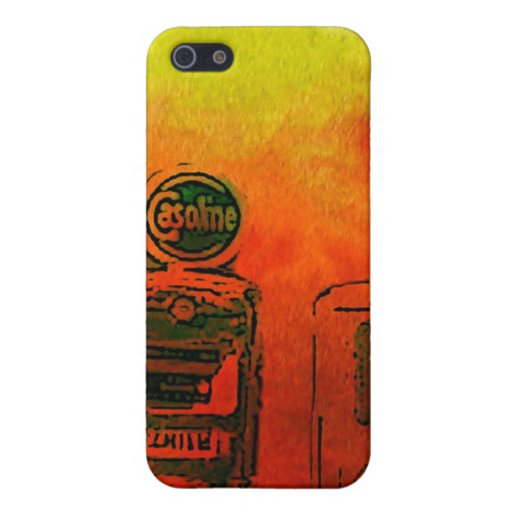 Gas Station iPhone 5 Cover