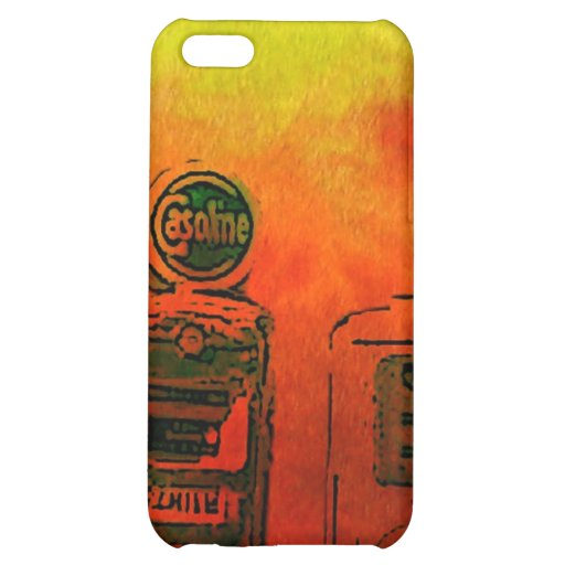 Gas Station iPhone 5C Cases