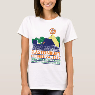GAS T - CND, Glasto Pyramid 1982 T-Shirt
