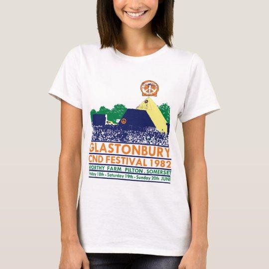 GAS T - CND, Glasto Pyramid 1982 T-Shirt