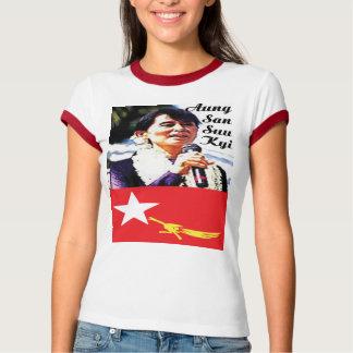 GAS T - Politics-Aung San Suu Kyi Tshirts