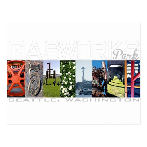 Gas Works Park Seattle Travel Postcard