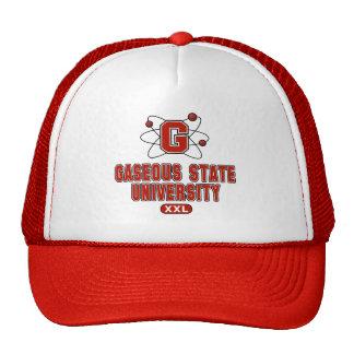 Gaseous State University Hats