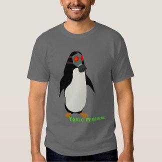 Gasmask Penguin T Shirts