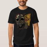 Gasmask Skull Biohazard T-shirt