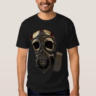 Gasmask skull shirts