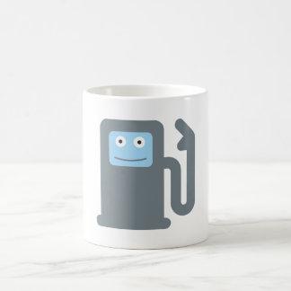 Gasoline pump gas petrol pump coffee mugs
