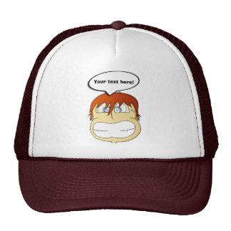 Gasp! Mesh Hats