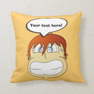 Gasp! Throw Cushion
