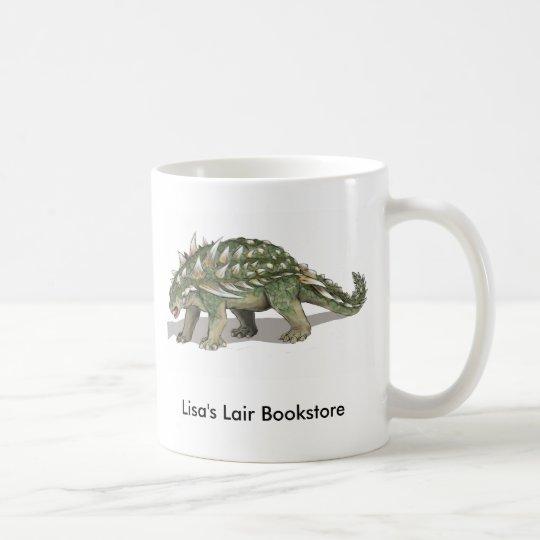 Gastonia burgei - Cretaceous Dinosaur Promo Coffee Mug