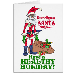 Gastric Bypass Santa Card