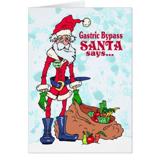Gastric Bypass Santa Card