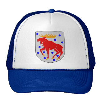 Gästrikland coat of arms mesh hats