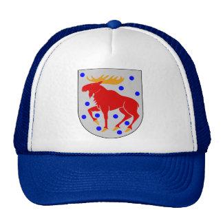 Gästrikland Coat of Arms Scandinavian Cap