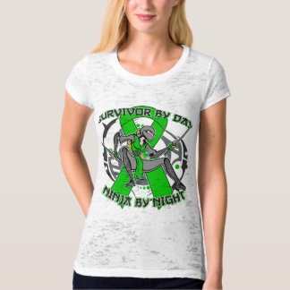 Gastroparesis Survivor By Day Ninja By Night T-shirts