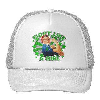 Gastroparesis Vintage Rosie Fight Like A Girl Cap