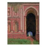Gate Near Kutub-Minar, Old Delhi, 1875 Post Cards